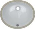 2209 White Porcelain Vanity SInk