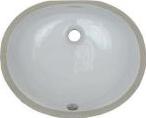 2210 White Porcelain Sink
